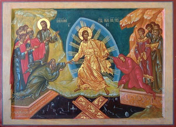 Икона Воскресение