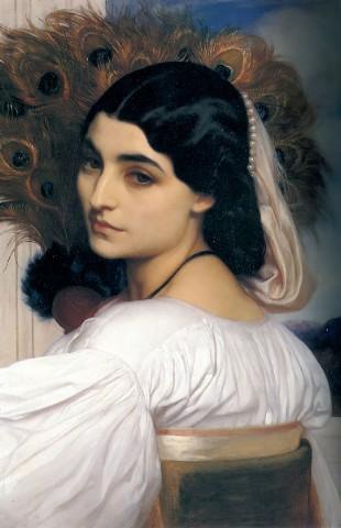 Женский классический портрет